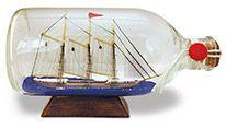 Ship in a Bottle - Windjammer