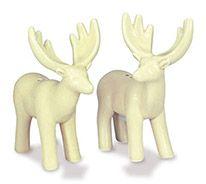 Novelty Salt & Pepper Set - Rustic Chic Deer