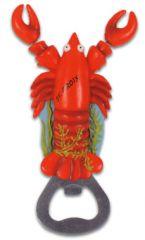 Bottle Opener Magnet - Lobster