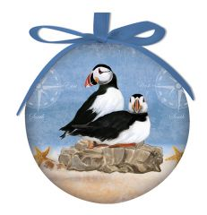 Ball Ornament - Puffin Rock