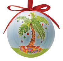 Ball Ornament - Palm Tree