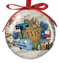 Ball Ornament - Tour Texas