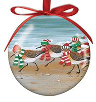 Ball Ornament - Sandpipers