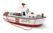 Handcrafted Ornament - Lobster Boat