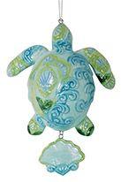Ceramic Ornament - Paisley Turtle
