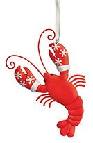 Clay Ornament - Lobster
