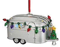 Light-up Resin Ornament - Camper