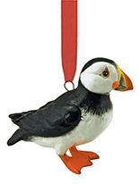 Ceramic Ornament - Puffin
