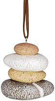 Resin Ornament - Rock Cairn