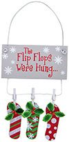 Resin Ornament - The Flip Flops Were Hung...